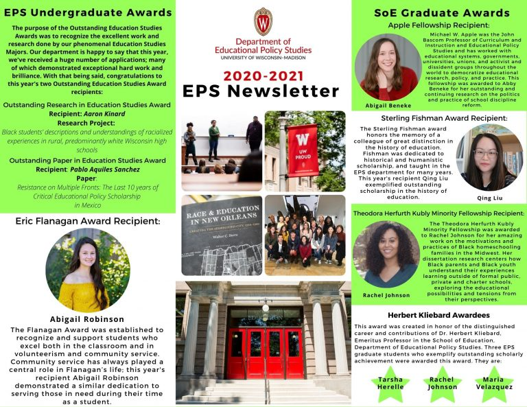 EPS Newsletter Front Page